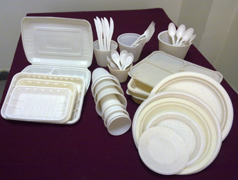 Starch sheets to plate bowl lunch box and etc.One of the main applications of starch based bio-plastics is disposal tableware production\u2026Read More » & MICROTEC Is Developing Bio Plastic Processing Machinery